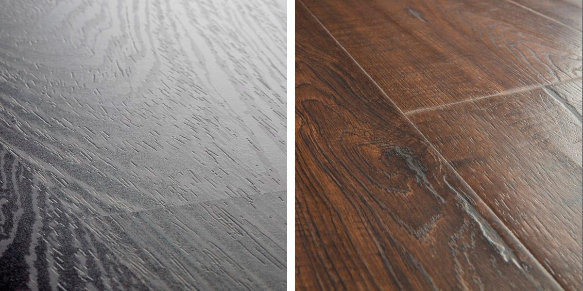 suelos laminados con ranura y sin ranura