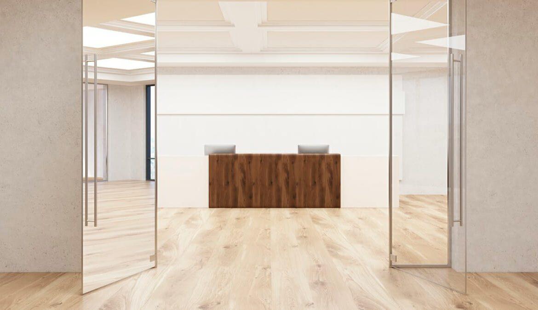 suelos parquet oficina