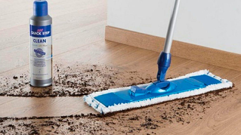 Accesorios para la limpieza de suelos de madera