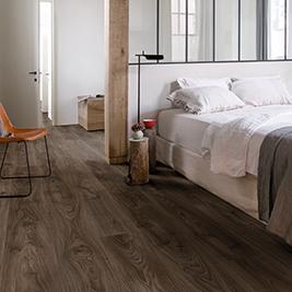 suelos Quick Step para el dormitorio