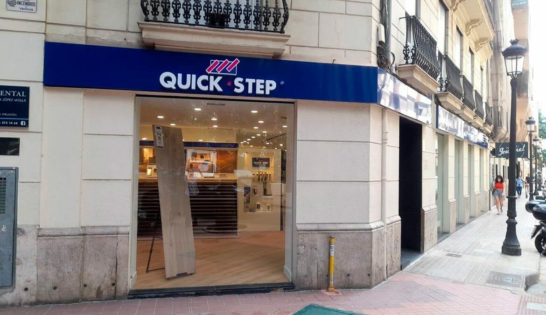 Suelos Quick step Diamond store