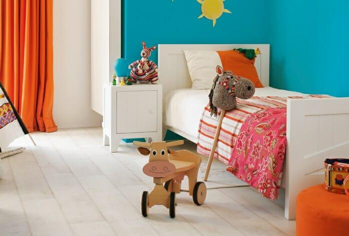 suelo laminado dormitorio de los niños cuarto infantil de Quick Step